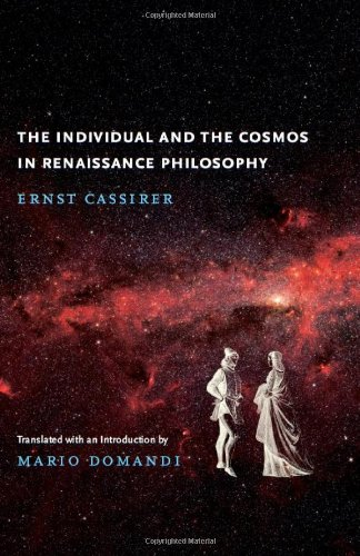Individual and the Cosmos in Renaissance Philosophy   2010 edition cover