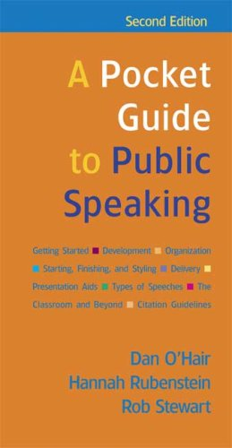 Pocket Guide to Public Speaking  2nd 2007 edition cover