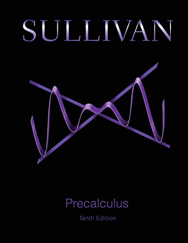 Precalculus:   2015 edition cover