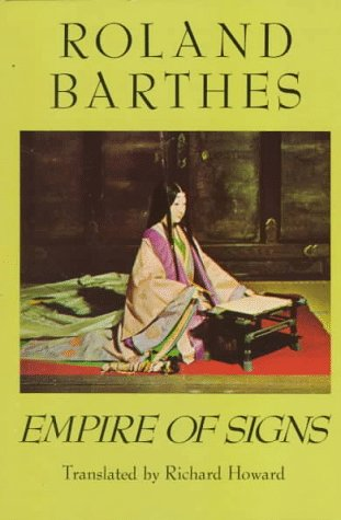 Empire of Signs   1983 edition cover