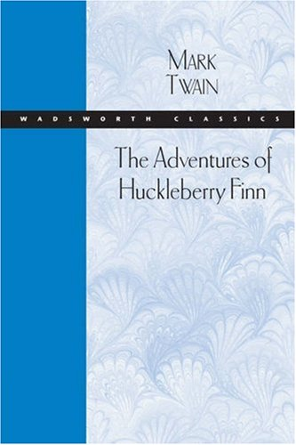 Adventures of Huckleberry Finn   2005 9780534522070 Front Cover