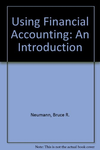 Using Financial Accounting An Introduction 3rd 2004 (Revised) 9780757509070 Front Cover