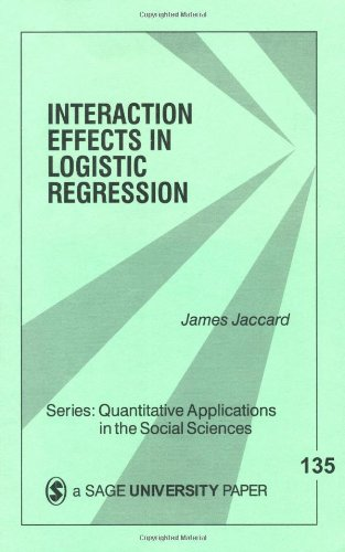 Interaction Effects in Logistic Regression   2001 edition cover