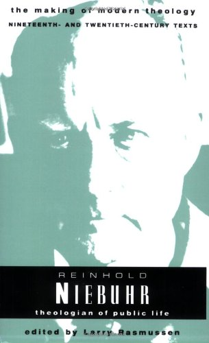 Reinhold Niebuhr Theologian of Public Life N/A edition cover