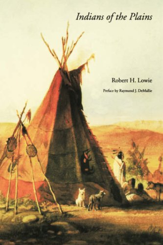 Indians of the Plains   1982 (Reprint) edition cover