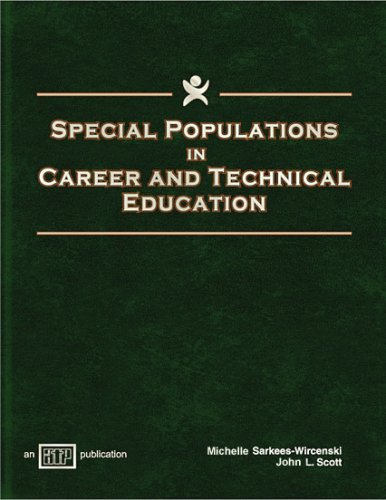 Special Populations in Career and Technical Education   2003 edition cover