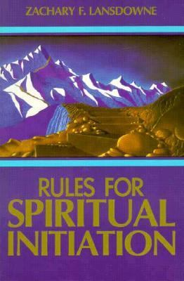 Rules for Spiritual Initiation  N/A 9780877287070 Front Cover