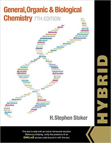 General, Organic, and Biochemistry + Owl Youbook Access Card: Hybrid  2015 edition cover