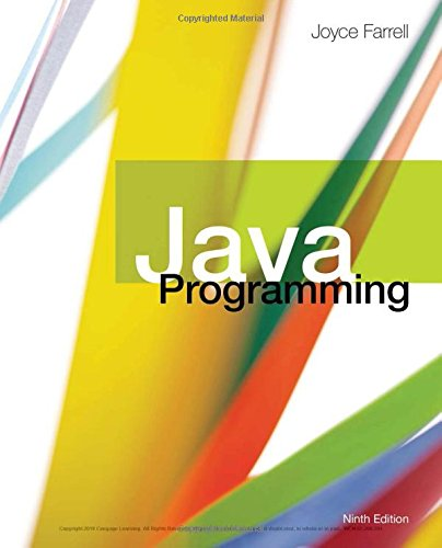 Java Programming:   2018 9781337397070 Front Cover