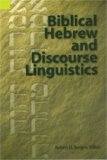 Biblical Hebrew and Discourse Linguistics   1994 9781556710070 Front Cover