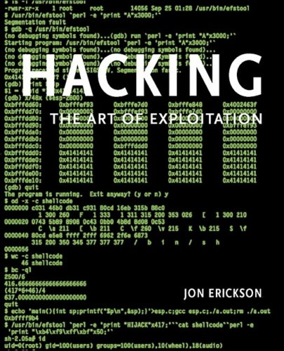 Hacking The Art of Exploitation  2003 edition cover