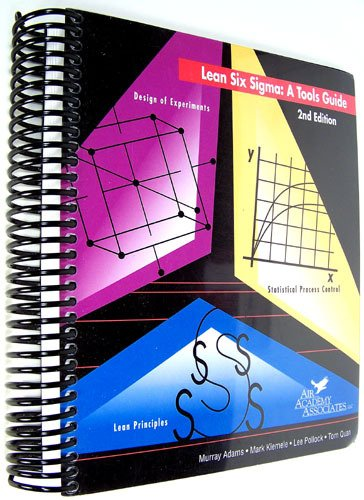 Lean Six Sigma A Tools Guide, 2nd Edition  2004 edition cover