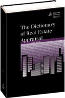 Dictionary of Real Estate Appraisal 5th 2010 edition cover