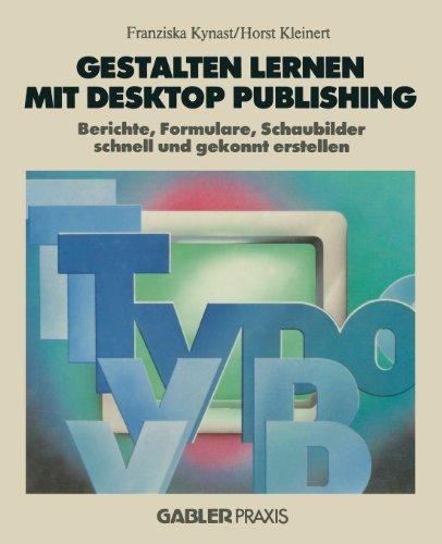 Gestalten Lernen MIT Desktop Publishing   1988 edition cover
