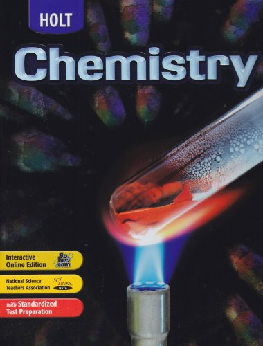 Holt Chemistry  6th (Student Manual, Study Guide, etc.) 9780030391071 Front Cover