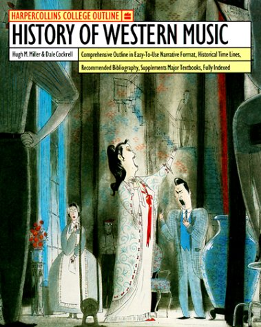 History of Western Music  5th edition cover