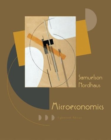 Microeconomics  18th 2005 (Revised) edition cover