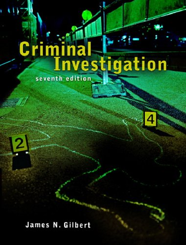 Criminal Investigation  7th 2007 (Revised) edition cover