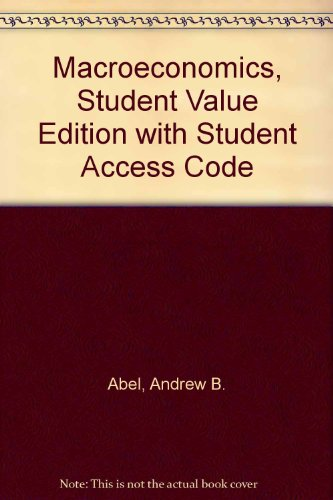 Macroeconomics, Student Value Edition Plus NEW MyEconLab with Pearson EText -- Access Card Package  8th 2014 edition cover