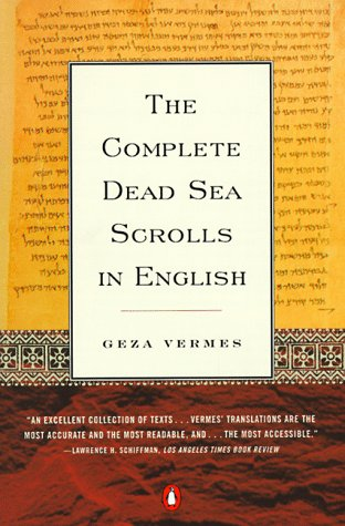 Complete Dead Sea Scrolls in English  100th 9780140278071 Front Cover