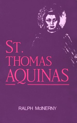 St. Thomas Aquinas  Reprint  9780268017071 Front Cover