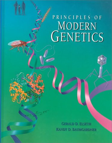 Principles of Modern Genetics  1st 9780314042071 Front Cover