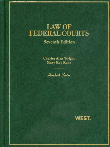 Law of Federal Courts  7th 2011 (Revised) 9780314927071 Front Cover