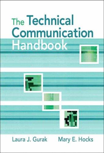 Technical Communication Handbook   2009 edition cover