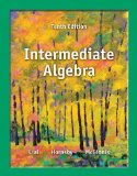 Intermediate Algebra, Books a la Carte Edition Plus MyMathLab -- Access Card Package  10th 2014 edition cover