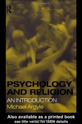 Psychology and Religion Introduction  1999 edition cover