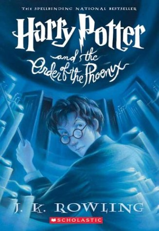Harry Potter and the Order of the Phoenix   2003 9780439358071 Front Cover