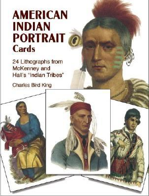 American Indian Portrait Cards 24 Lithographs from Mckenney and Hall's Indian Tribes N/A edition cover