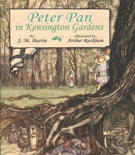 Peter Pan in Kensington Gardens   2008 (Unabridged) edition cover