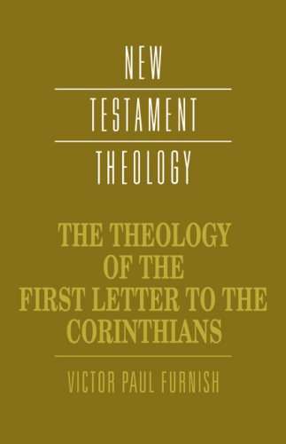Theology of the First Letter to the Corinthians   1999 edition cover