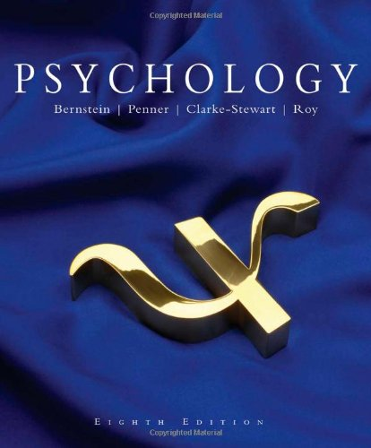 Psychology  8th 2008 9780618874071 Front Cover