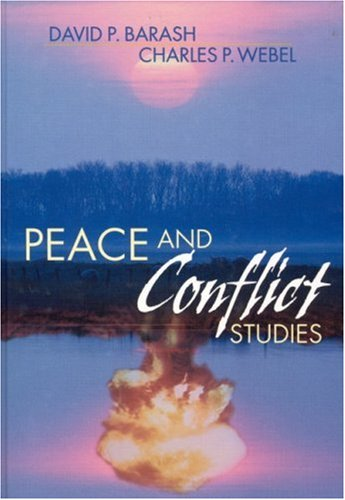 Peace and Conflict Studies   2002 edition cover