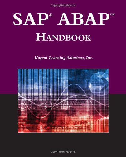 SAP� ABAP Handbook   2011 (Revised) 9780763781071 Front Cover