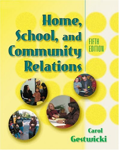 Home, School and Community Relations  5th 2004 edition cover