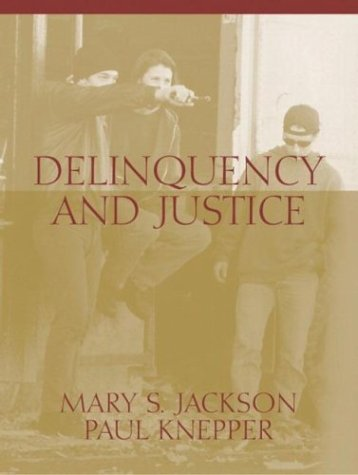 Delinquency and Justice   2003 edition cover