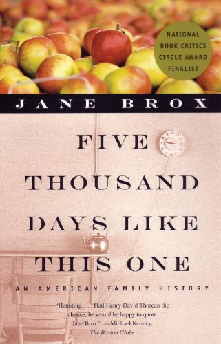 Five Thousand Days Like This One : An American Family History  2000 edition cover
