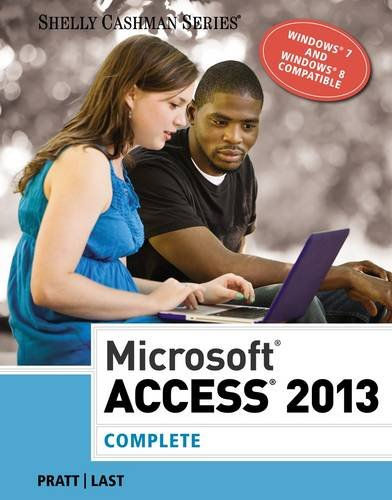 Microsoft� Access 2013, Complete   2014 edition cover