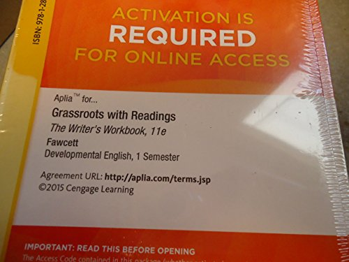 GRASSROOTS W/READINGS:WRITERS...-ACCESS N/A 9781285763071 Front Cover