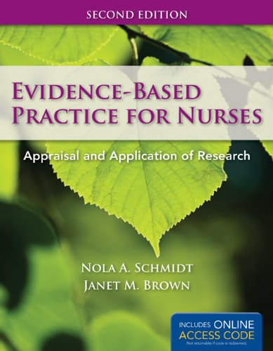 Evidence-Based Practice for Nurses  2nd 2012 edition cover