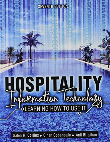 Hospitality Information Technology: Learning How to Use It  2013 edition cover