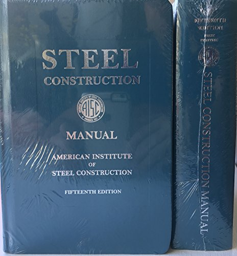 Steel Construction Manual, 15th Ed   2017 9781564240071 Front Cover