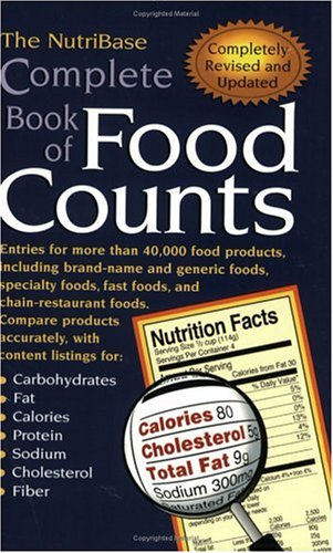 Nutribase Complete Book of Food Counts  2nd 2001 (Revised) edition cover