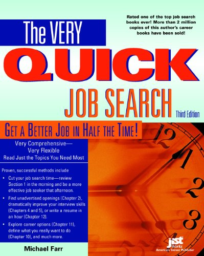 Very Quick Job Search, Third Edition Workbook  3rd 2004 (Workbook) 9781593570071 Front Cover