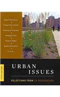 Urban Issues: Selections from the CQ Researcher  5th 2009 (Revised) edition cover