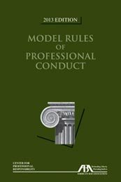 MODEL RULES OF PROF.CONDUCT-20 N/A edition cover