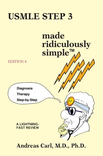 USMLE Step 3 Made Ridiculously Simple: 4th 2011 edition cover